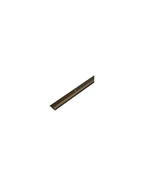 Ukončovací profil vŕtaný 30x8 mm, hrúbka 5 mm, dĺžka 2,50 m, kovodekor