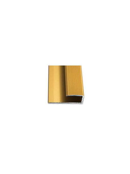 Ukončovací profil vŕtaný 28x11 mm, hrúbka 8 mm, dĺžka 2,70 m, kovodekor