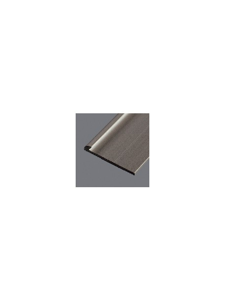 Ukončovací profil vŕtaný 18x3 mm, hrúbka 2 mm, dĺžka 2,50 m, kovodekor