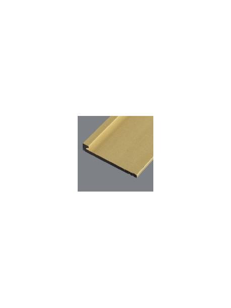 Ukončovací profil 21x3,5 mm, hrúbka 2 mm, prírodný hliník, bez povrchovej úpravy