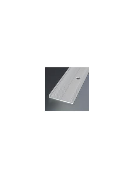 Ukončovací profil vŕtaný 32x4,8 mm, hrúbka 3 mm, dĺžka 3,0 m, kovodekor