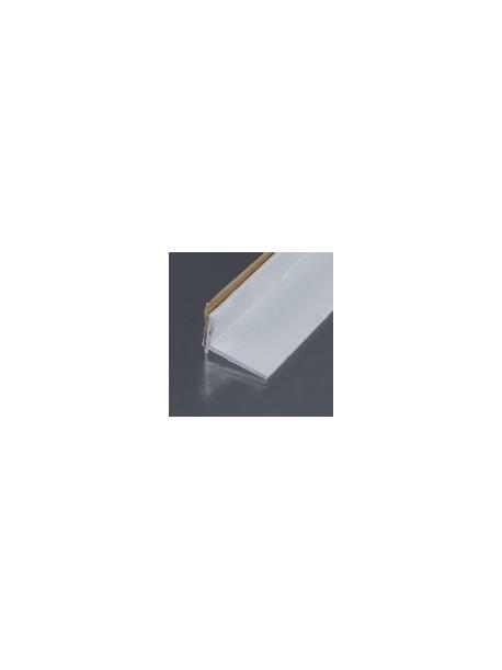 Ukončovací kútový profil samolepiaci 20x15 mm, hrúbka 0-22 mm, dĺžka 2,70 m