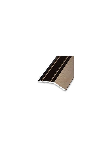 Ukončovací profil vŕtaný 38x10 mm, hrúbka 8 mm, dĺžka 2,70 m, kovodekor