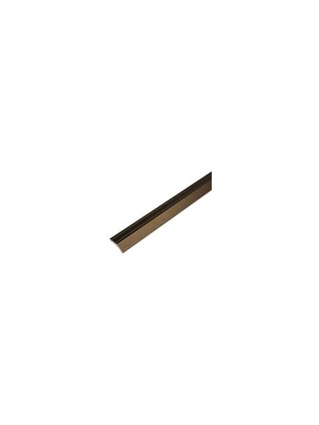 Ukončovací profil zlatý matný, eloxovaný hliník