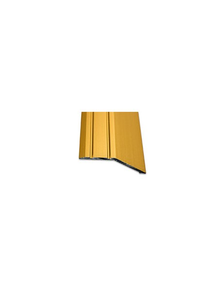 Ukončovací profil vŕtaný 47x16 mm, hrúbka 14 mm, dĺžka 2,70 m, kovodekor