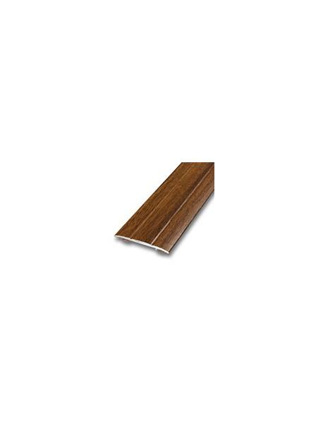 Prechodový profil samolepiaci 38x2,5 mm, dĺžka 2,70m, kovodekor