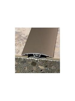 Prechodový profil WELL 40x0-10 mm, dĺžka 2,70 m, drevodekor