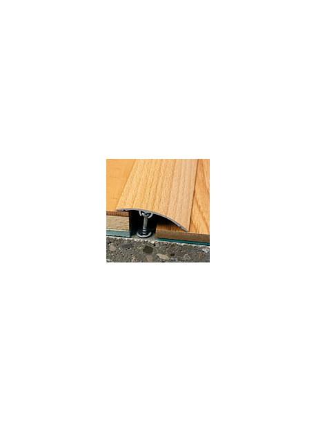 Prechodový profil WELL 50x0-16 mm, dĺžka 2,70 m, kovodekor