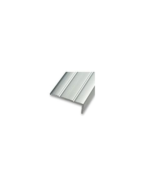 Schodová hrana vŕtaná 24,5x10 mm, dĺžka 0,90 m kovodekor
