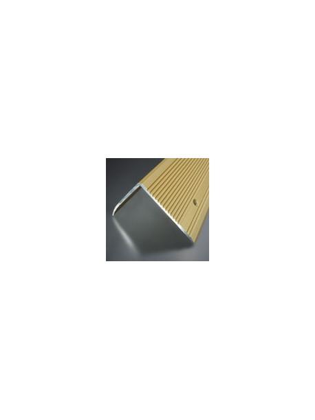 Schodová hrana vŕtaná 70x55 mm, dĺžka 2,50 m, kovodekor