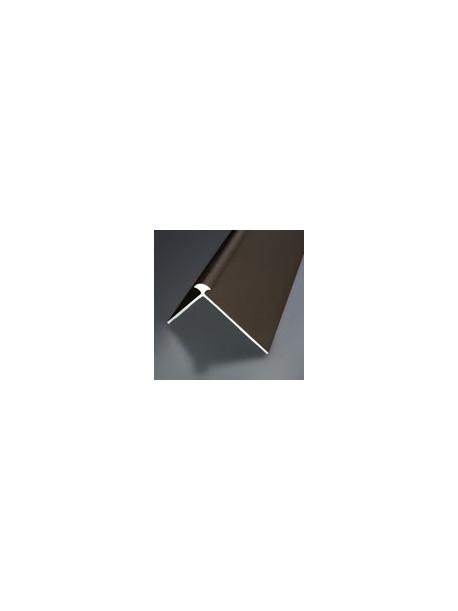 Schodová hrana vŕtaná 41x31 mm, hrúbka 4 mm