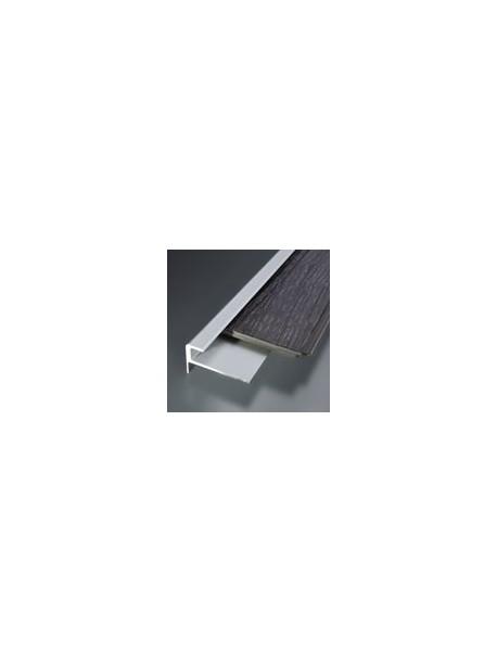 Schodový profil vŕtaný 30x17 mm, hrúbka 7 mm