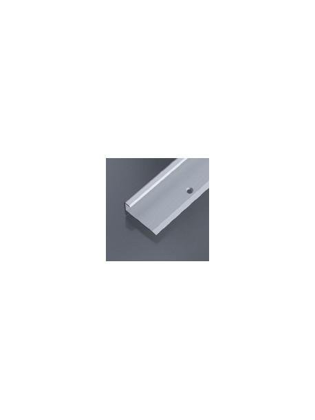 Schodový profil vŕtaný, 37,5x20 mm, hrúbka 9-10,2 mm