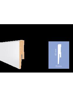 Soklová lišta Arbiton MDF lakovaná lesklá Diamond GP0601