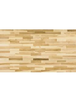 Drevená podlaha Jaseň Prírodný 3 lamelový