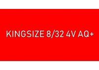 Kingsize 8/32 4V AQ+